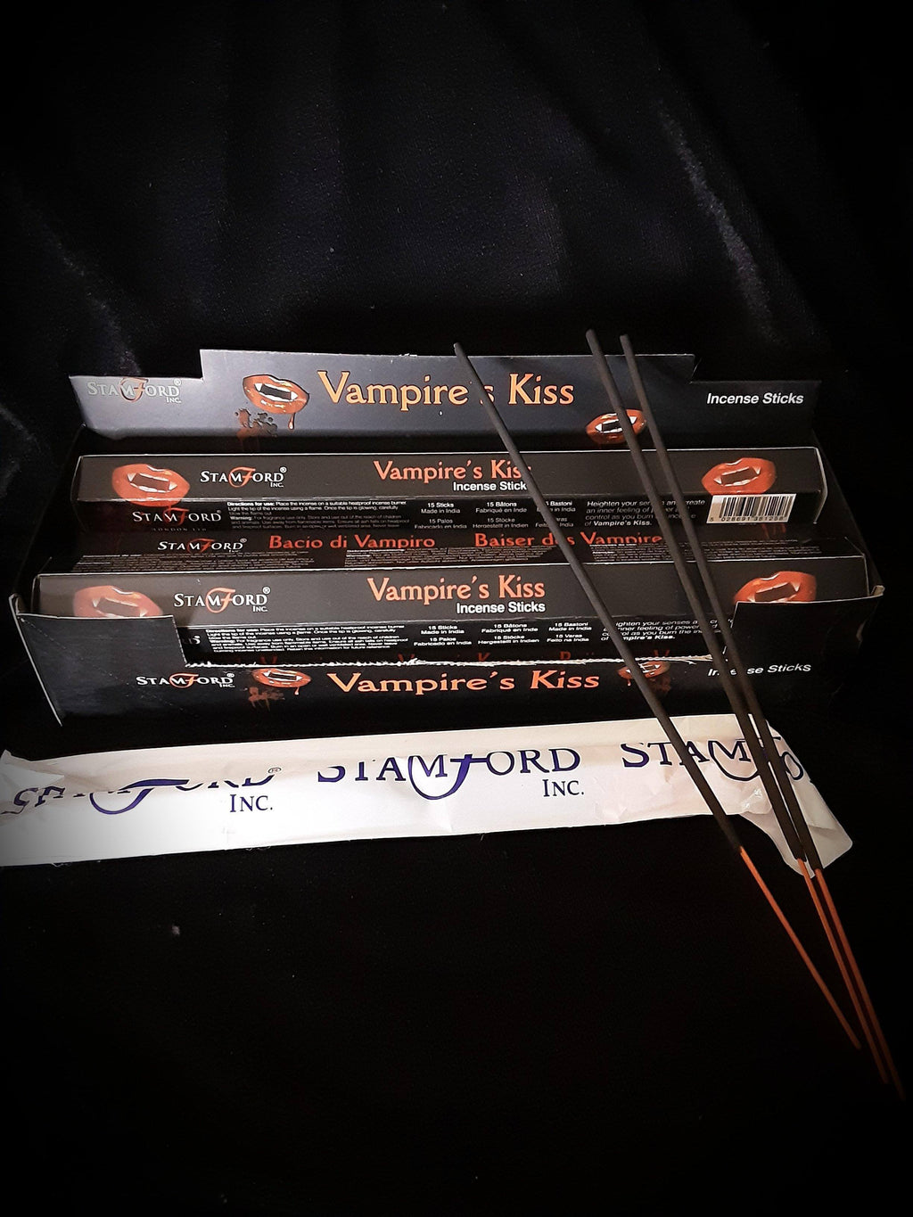 Stamford Vampires Kiss Stick Incense
