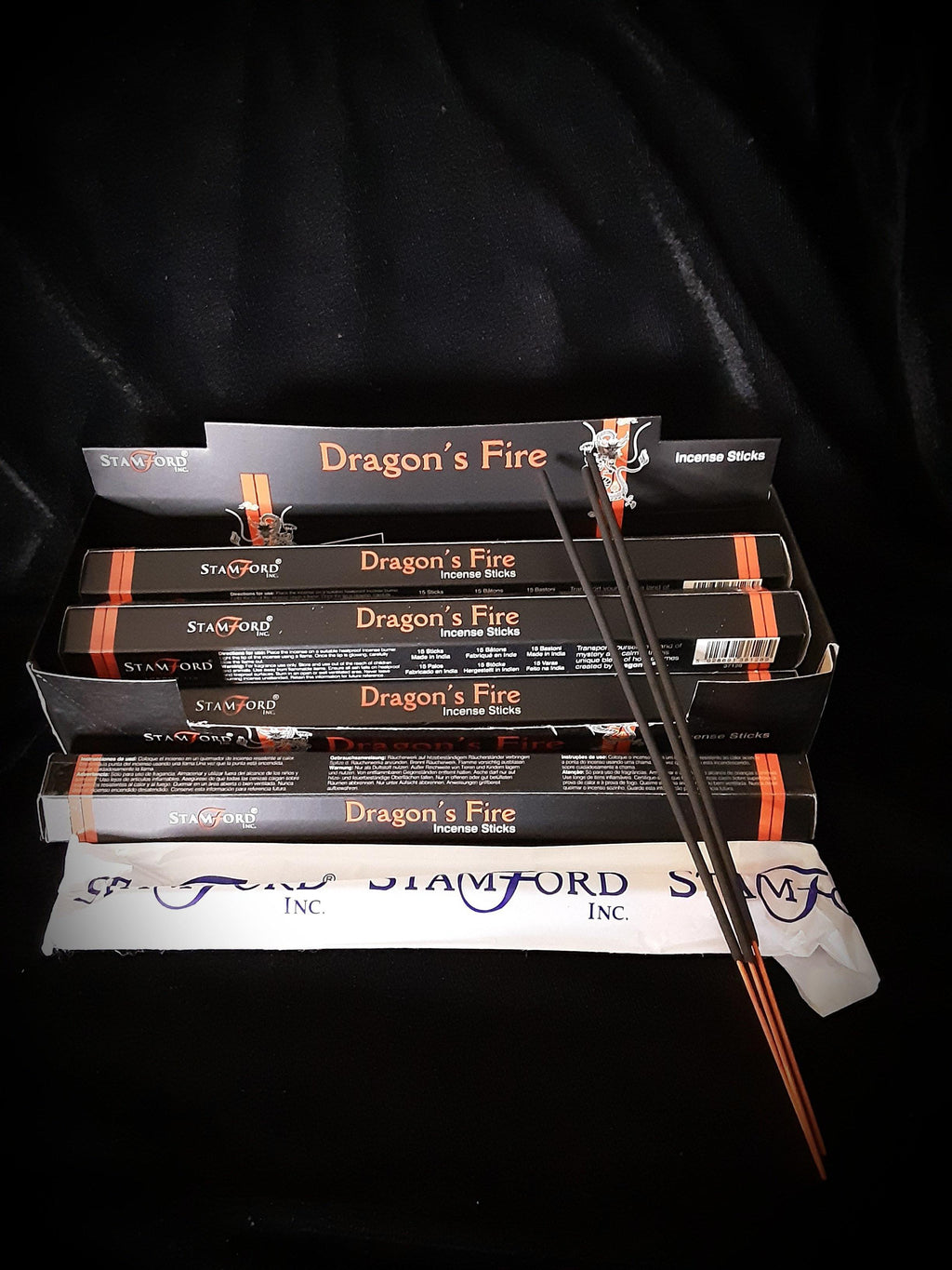 Stamford Dragons Fire Stick Incense