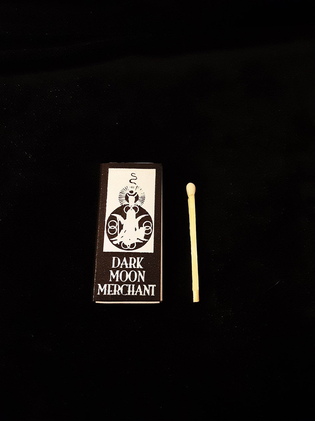 Dark Moon Merchant Matchbook Candles