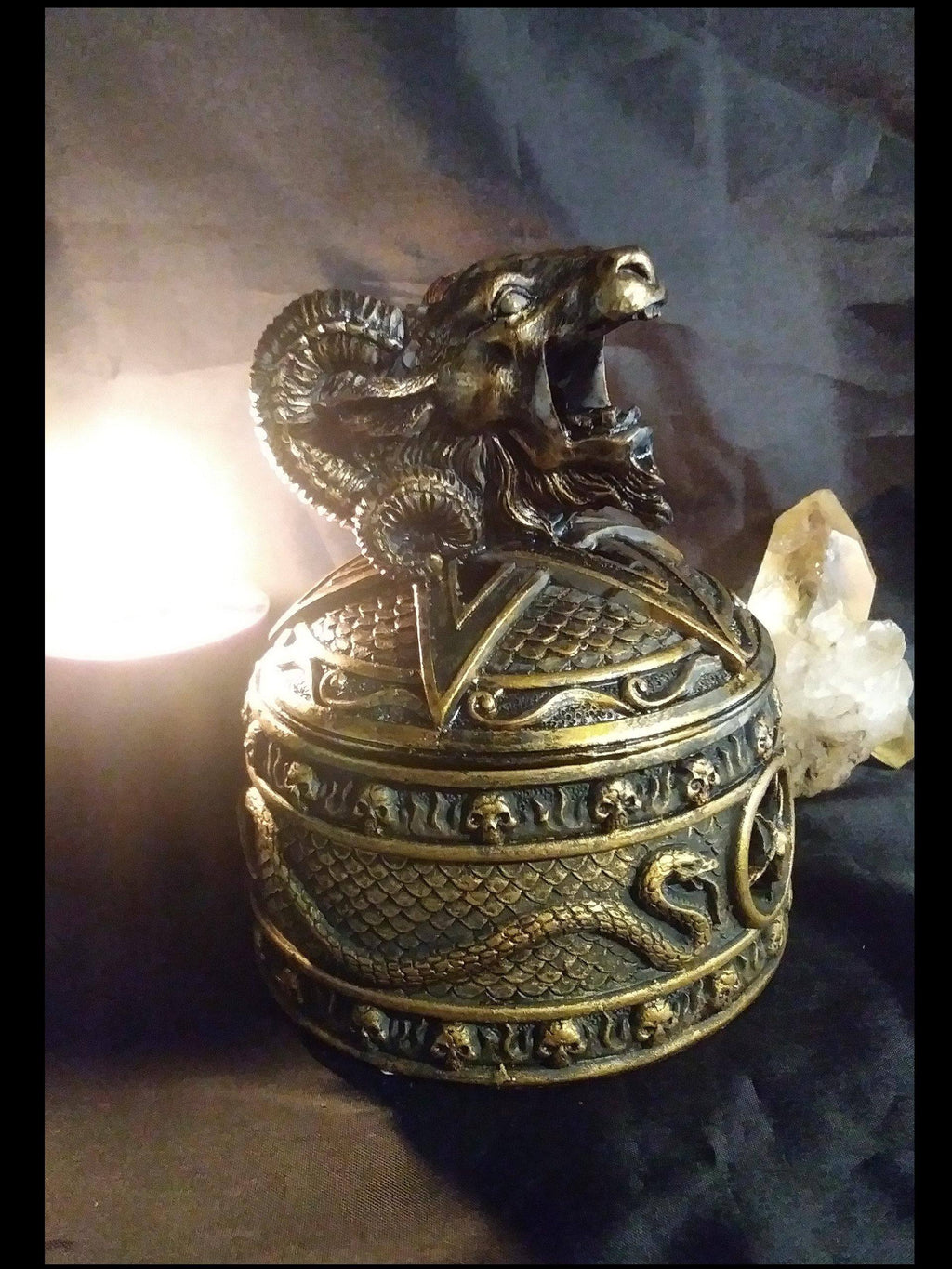 Baphomet Goat Incense Burner & Box Burners