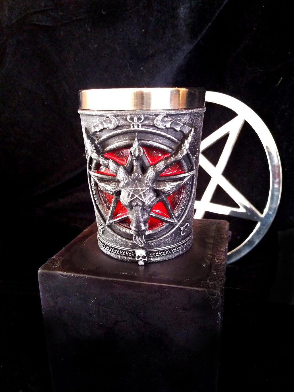 Baphomet Shot Glass Chalice