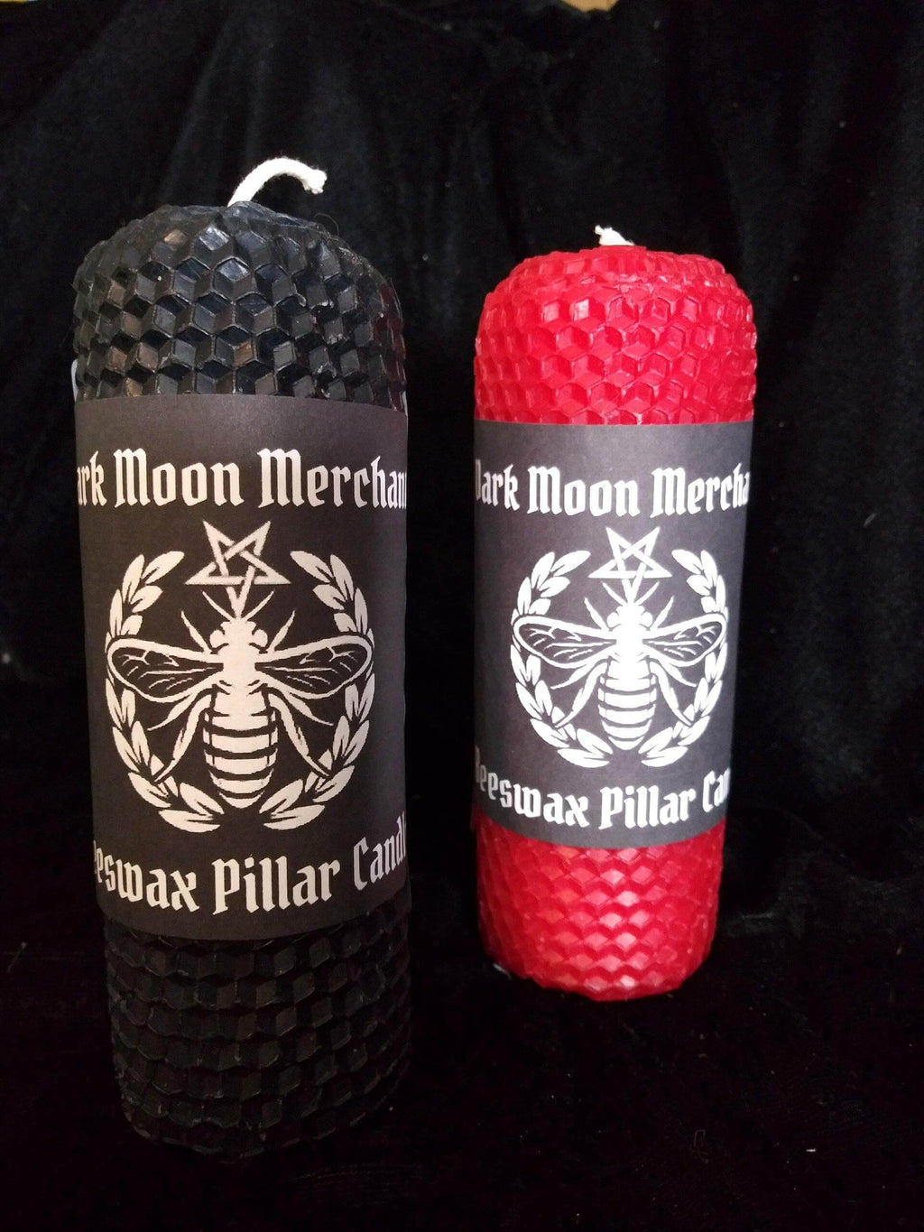Beeswax Pillar Ritual Candles