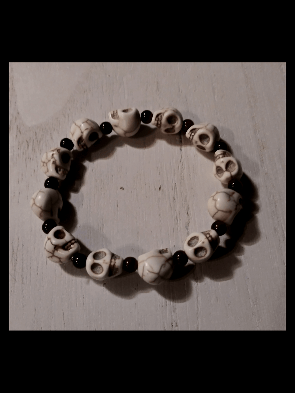 Blood & Bone Howlite Bracelet Jewelry