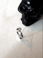 Coffin Silver Stack Ring Jewelry