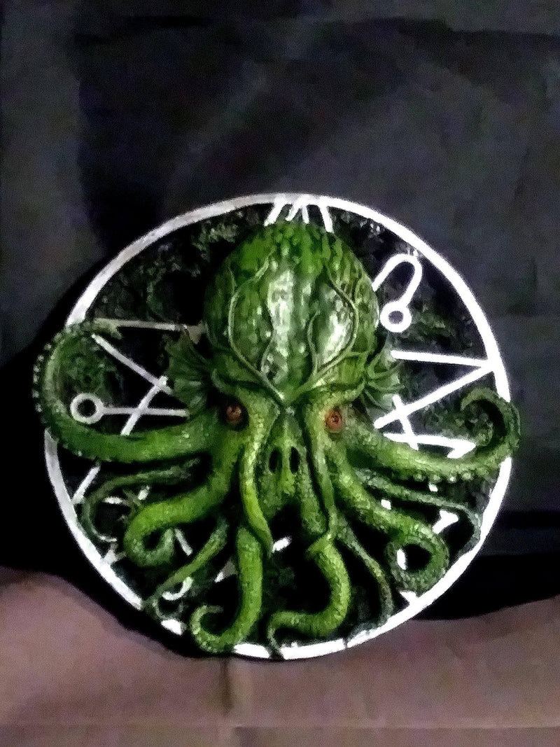 Cthulhu Wall Plaque Statues