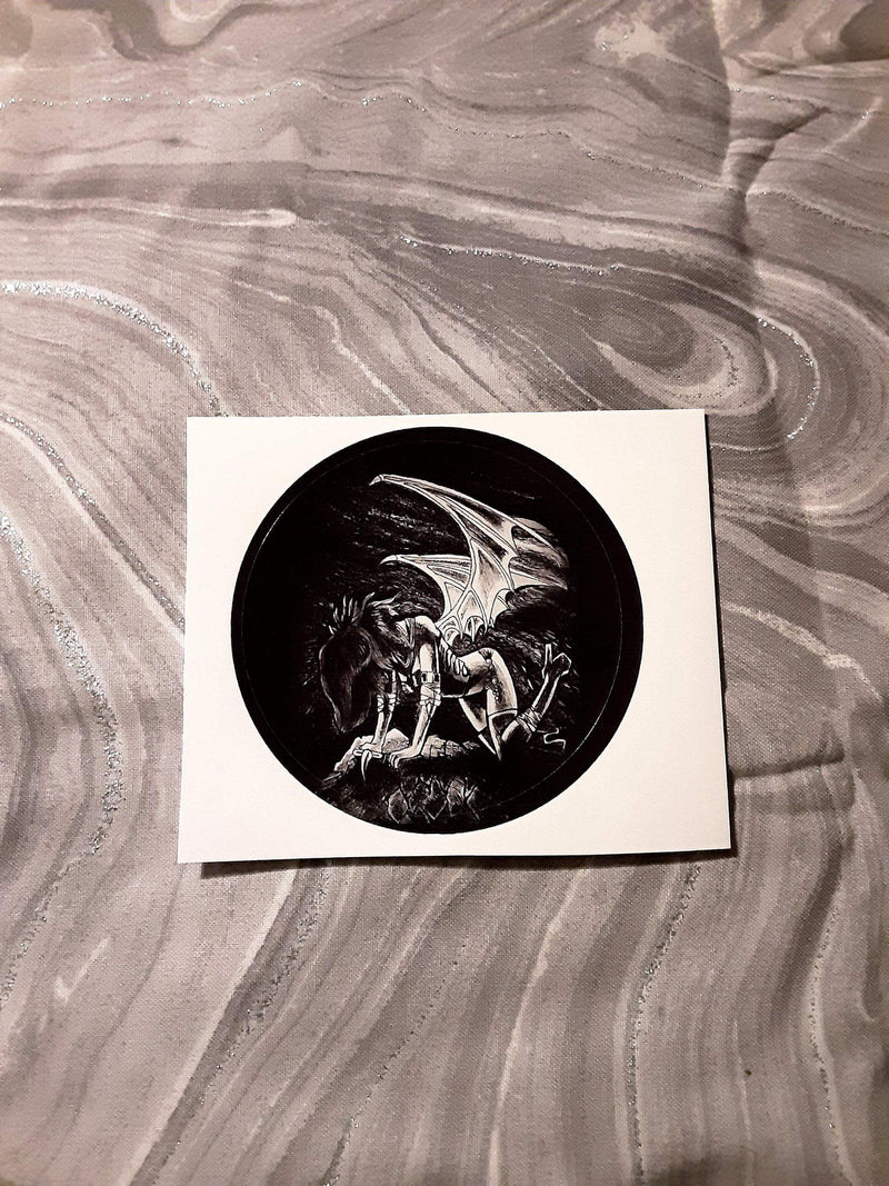 Dark Demoness Sticker Stickers