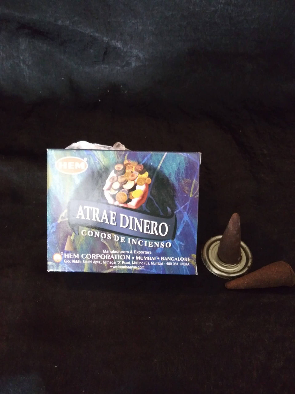 Hem Incense Cones - Attract Money