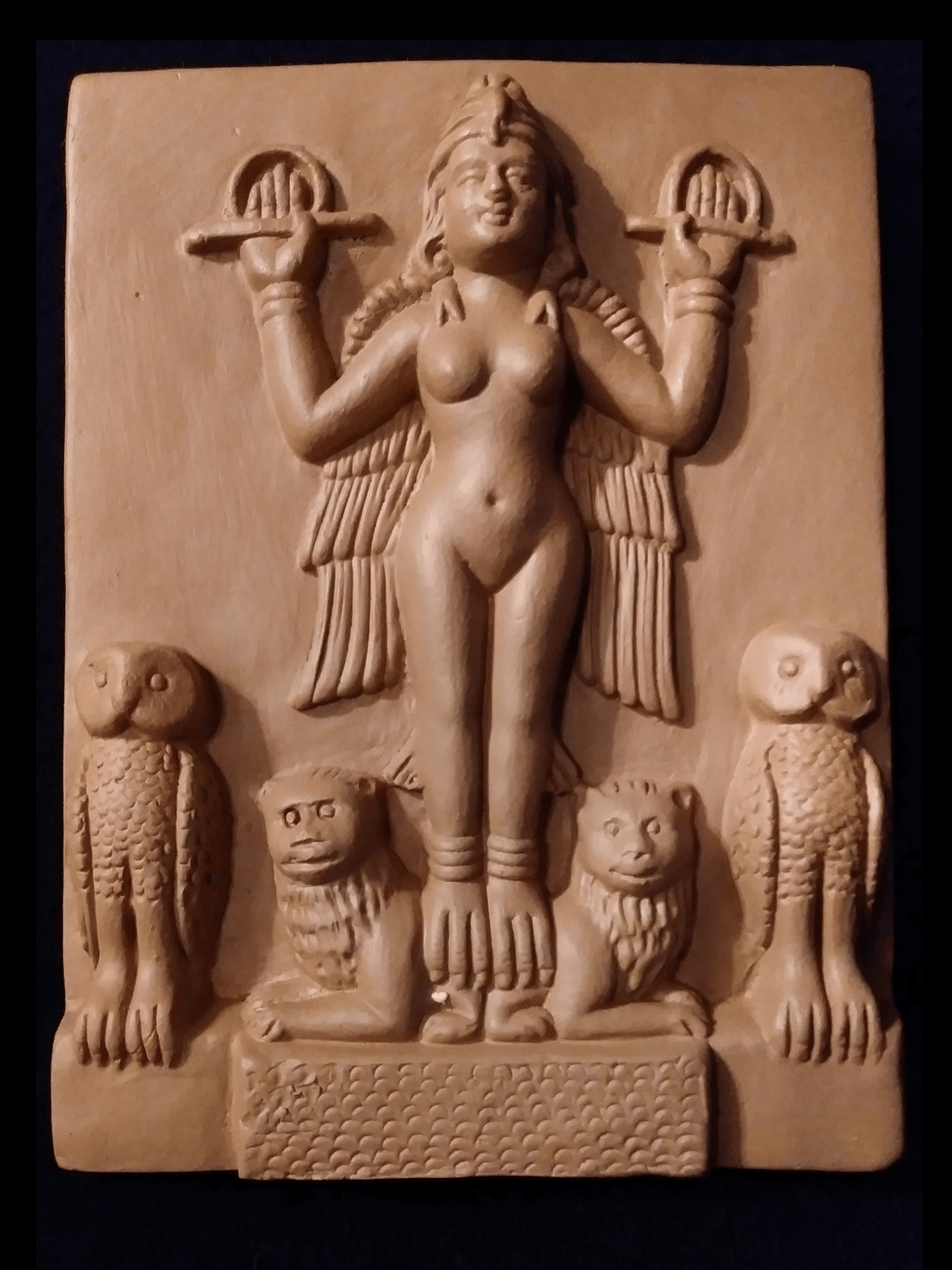 Lilith Clay Tablet Statues