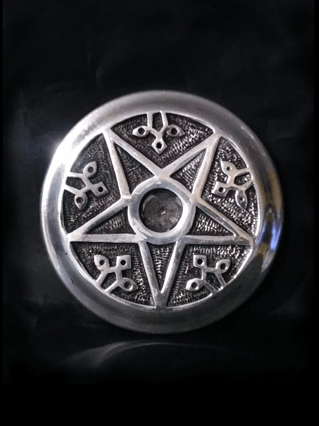 Large Pentagram Incense Burner