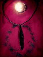 Black Raven Feather Jewelry