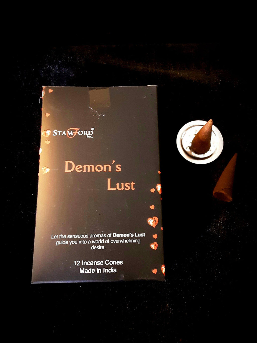 Stamford Demons Lust Cone Incense