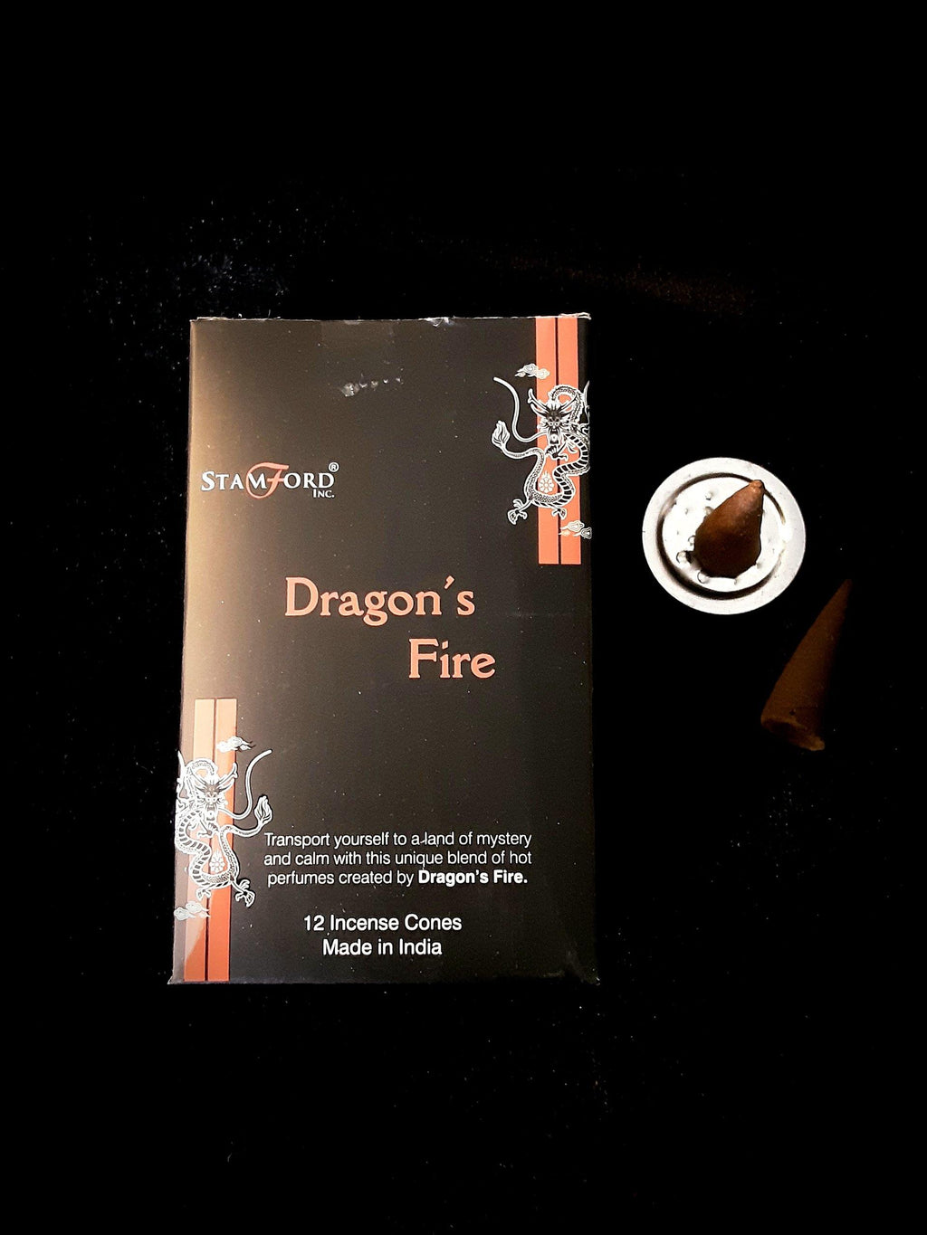 Stamford Dragons Fire Cone Incense