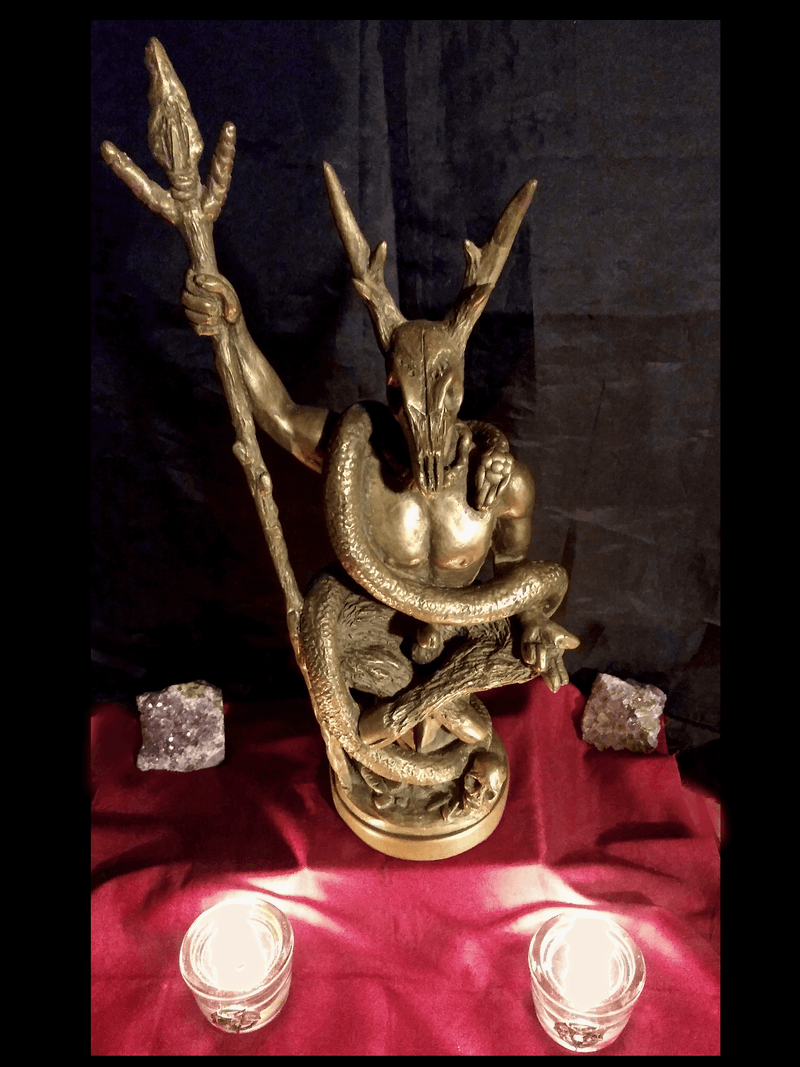 Bronze Witch King Statue Statues