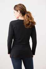 Load image into Gallery viewer, Black Long Sleeve-Hastings