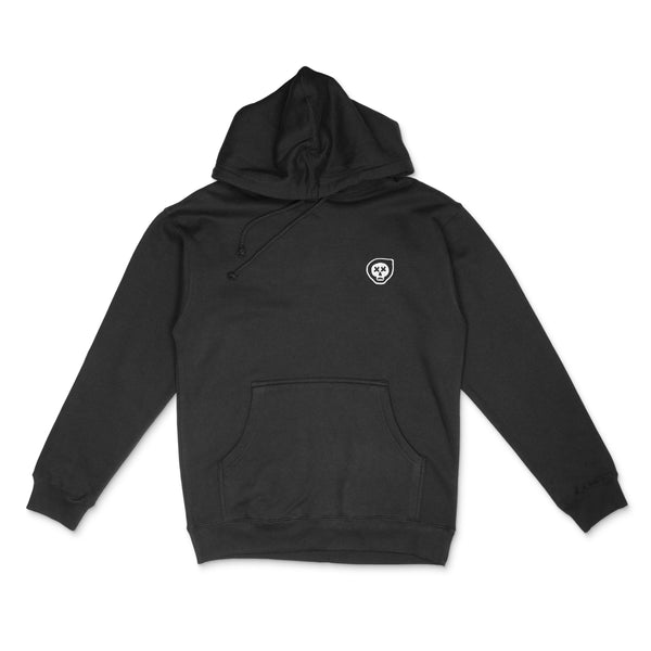 Closed Road Struggle Hoodie - Black