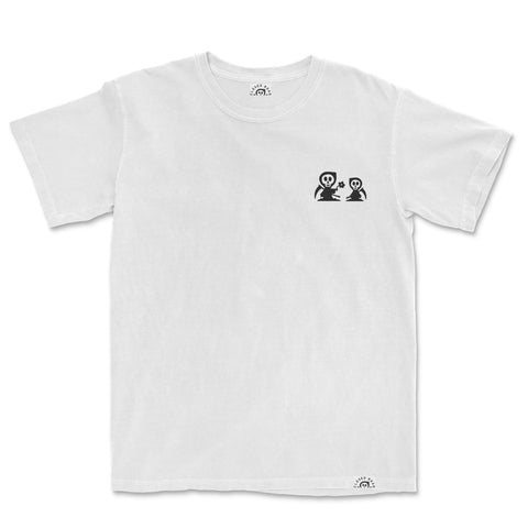 Closed Road Change Tee - White