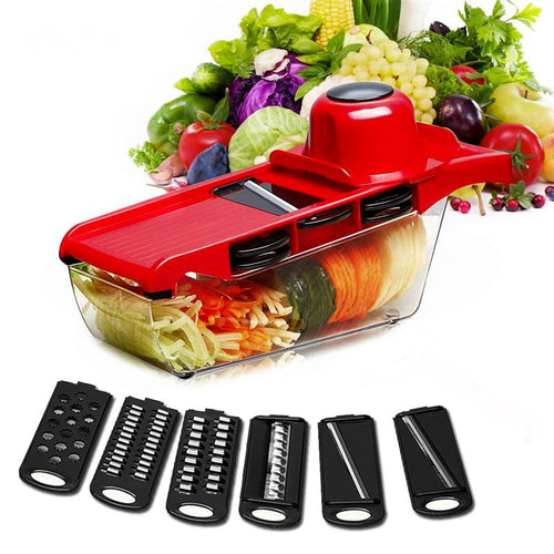 KP ChefSlicer 6-In-1 Vegetable Cutter