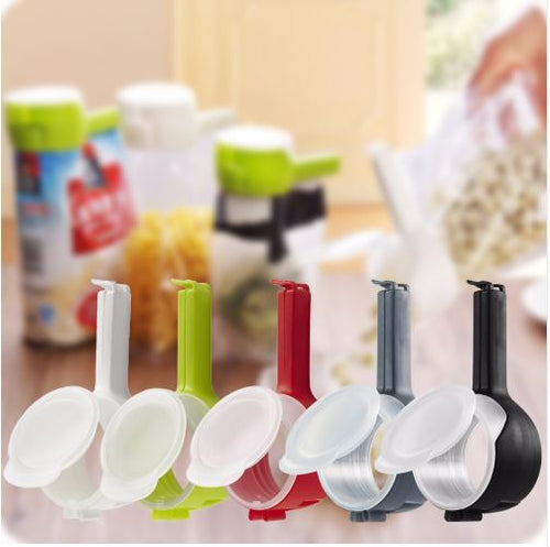 KitchenPals Seal&Pour Food Clip