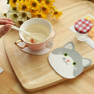 Cute Cat Coaster