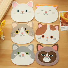 Load image into Gallery viewer, Cute Cat Coaster