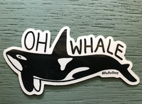 Oh Whale, Orca Vinyl Sticker