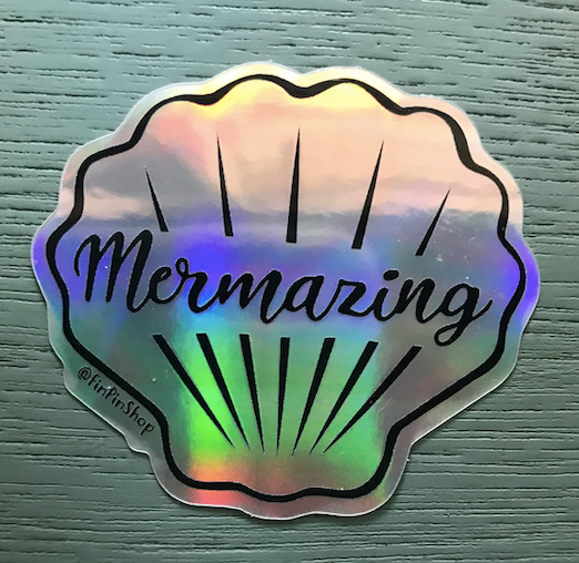 Mermazing Holographic Sticker