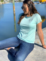 Ladies - Respect their Waters Shark tee