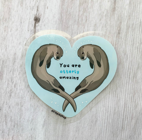 You are otterly amazing sticker