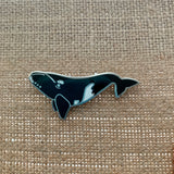 Southern Right Whale Cetacean Pin