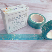 Shark Lovers Washi Eco Tape