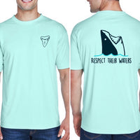 Respect their waters tee (men's)