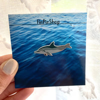 Spinner Dolphin Cetacean Pin
