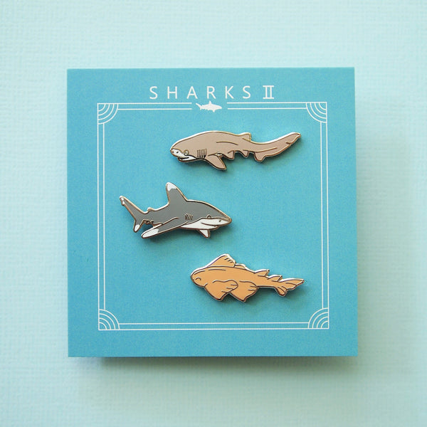 Sharks II pins