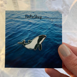 Commerson's Dolphin Cetacean Pin