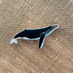 Humpback Whale Cetacean Pin Donation Item