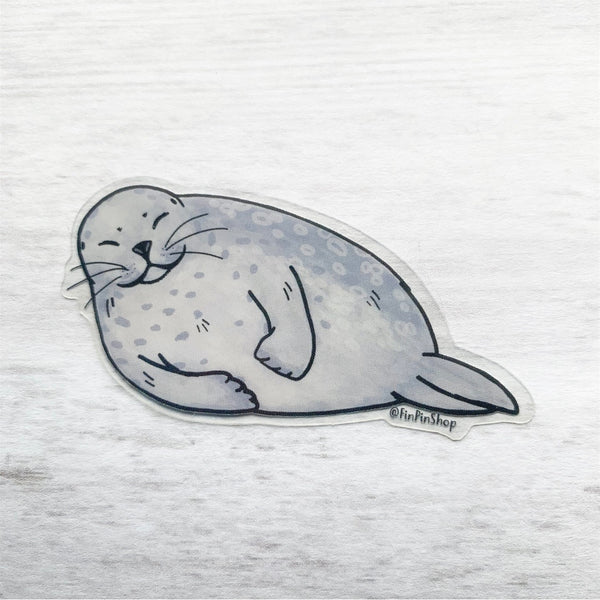 Ringed seal sticker