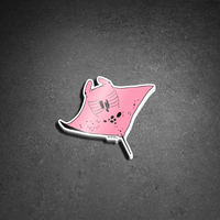 Inspector Clouseau Manta Ray Sticker