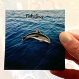 Pacific White-Sided Dolphin Cetacean Pin