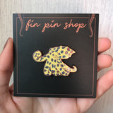 Blue ringed octopus enamel pin (CephaloPin)