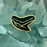 Shark tooth enamel pins • Donation to Saving the Blue
