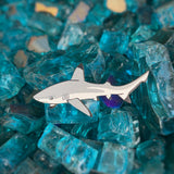 Blacktip Reef Shark Eco-friendly Wood Pin