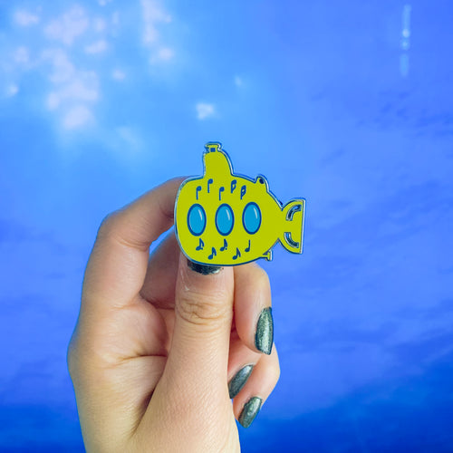 Yellow Submarine enamel pin