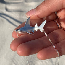 Mama Hammerhead shark necklace