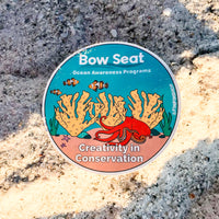 Bow Seat Ocean Awareness Programs Sticker (charity item)