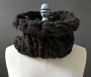 Cowl, Dark Brown