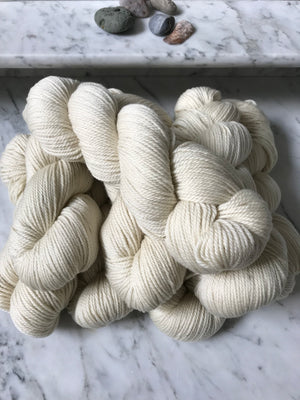 Yarn, Heavy Worsted White