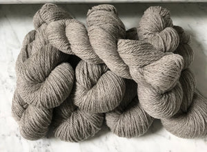 Yarn, Heavy Worsted Grey