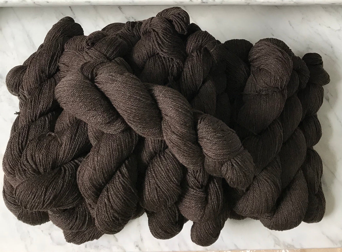 Yarn, Worsted, Black
