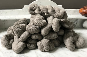 Yarn, Worsted, Grey
