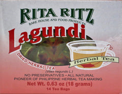 HERBAL LAGUNDI TEA 18 G- 14 TEA BAGS